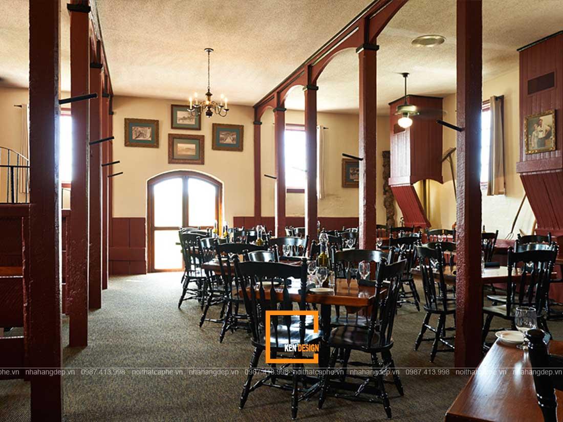 kinh nghiem thiet ke nha hang an uong phong cach vintage 3 - Kinh nghiệm thiết kế nhà hàng ăn uống phong cách vintage