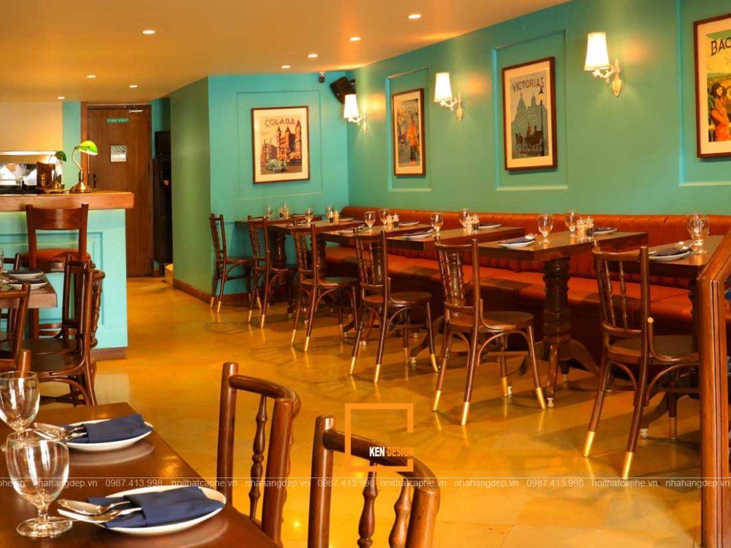 kinh nghiem thiet ke nha hang an uong phong cach vintage 4 1067x800 - Kinh nghiệm thiết kế nhà hàng ăn uống phong cách vintage