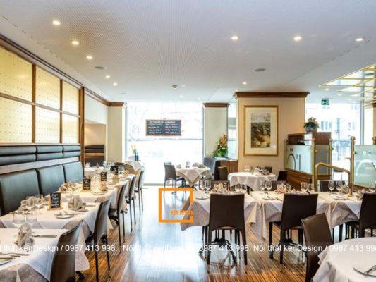 kinh nghiem thiet ke nha hang theo mat bang tang lau can nho 4 533x400 - Kinh nghiệm thiết kế nhà hàng theo mặt bằng tầng lầu cần nhớ