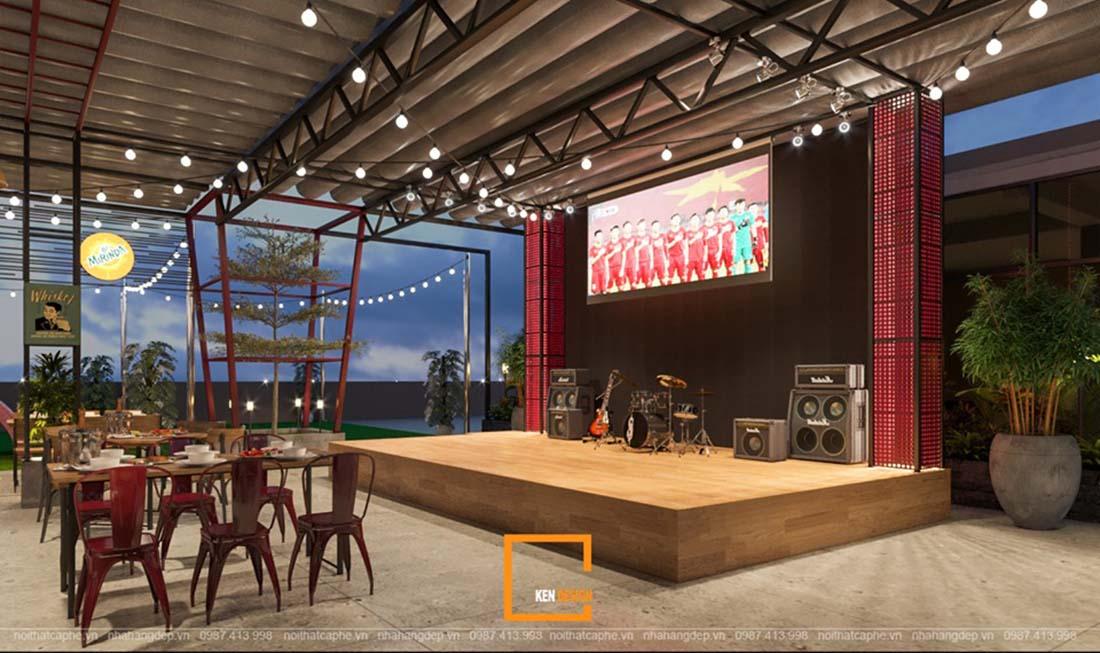 mau thiet ke nha hang ngoai troi dang tham khao 3 - Mẫu thiết kế nhà hàng ngoài trời đáng tham khảo