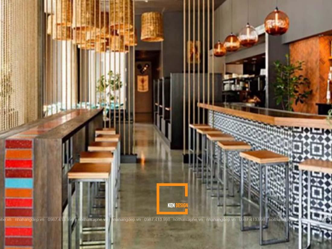 meo thiet ke nha hang tai nghe an dien tich han che 2 - Mẹo thiết kế nhà hàng tại Nghệ An diện tích hạn chế