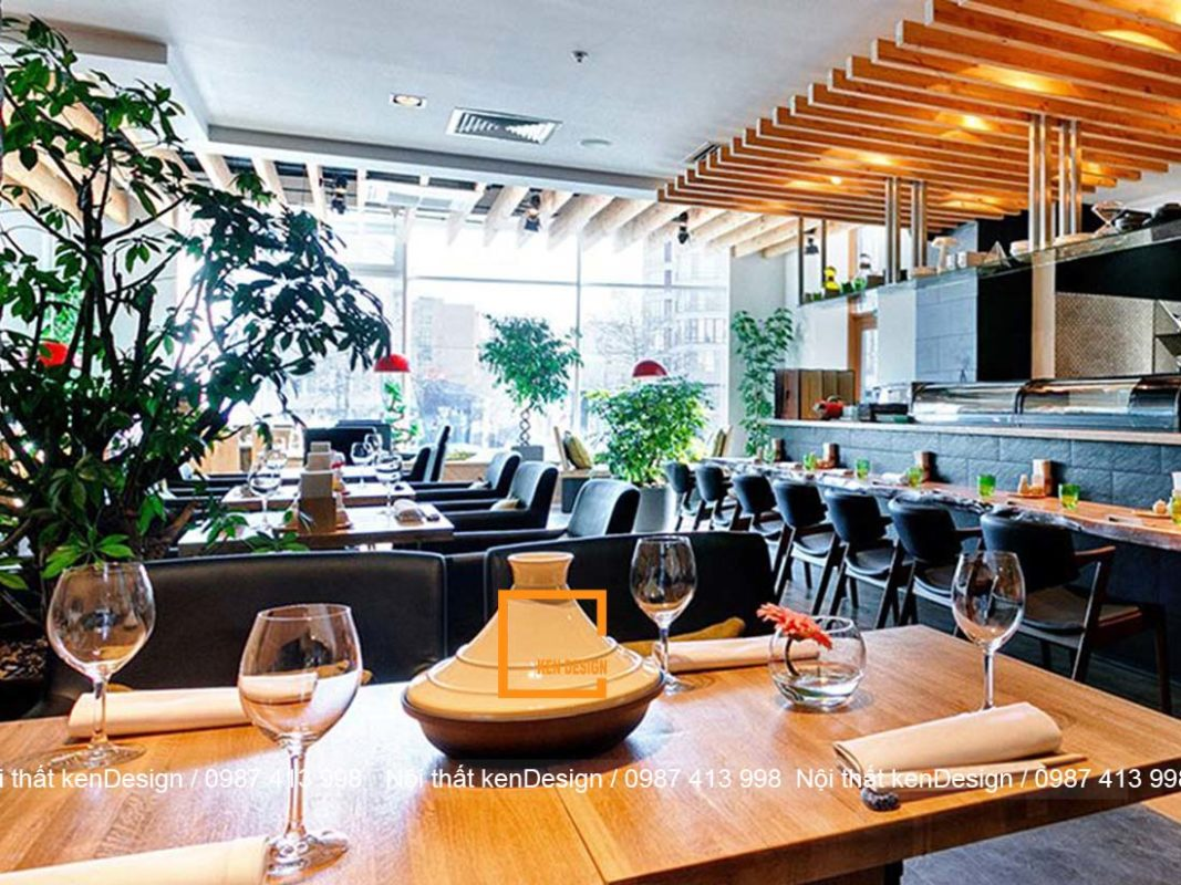 nhung goi y cho mot thiet ke nha hang cao cap 4 1067x800 - Những gợi ý cho một thiết kế nhà hàng cao cấp