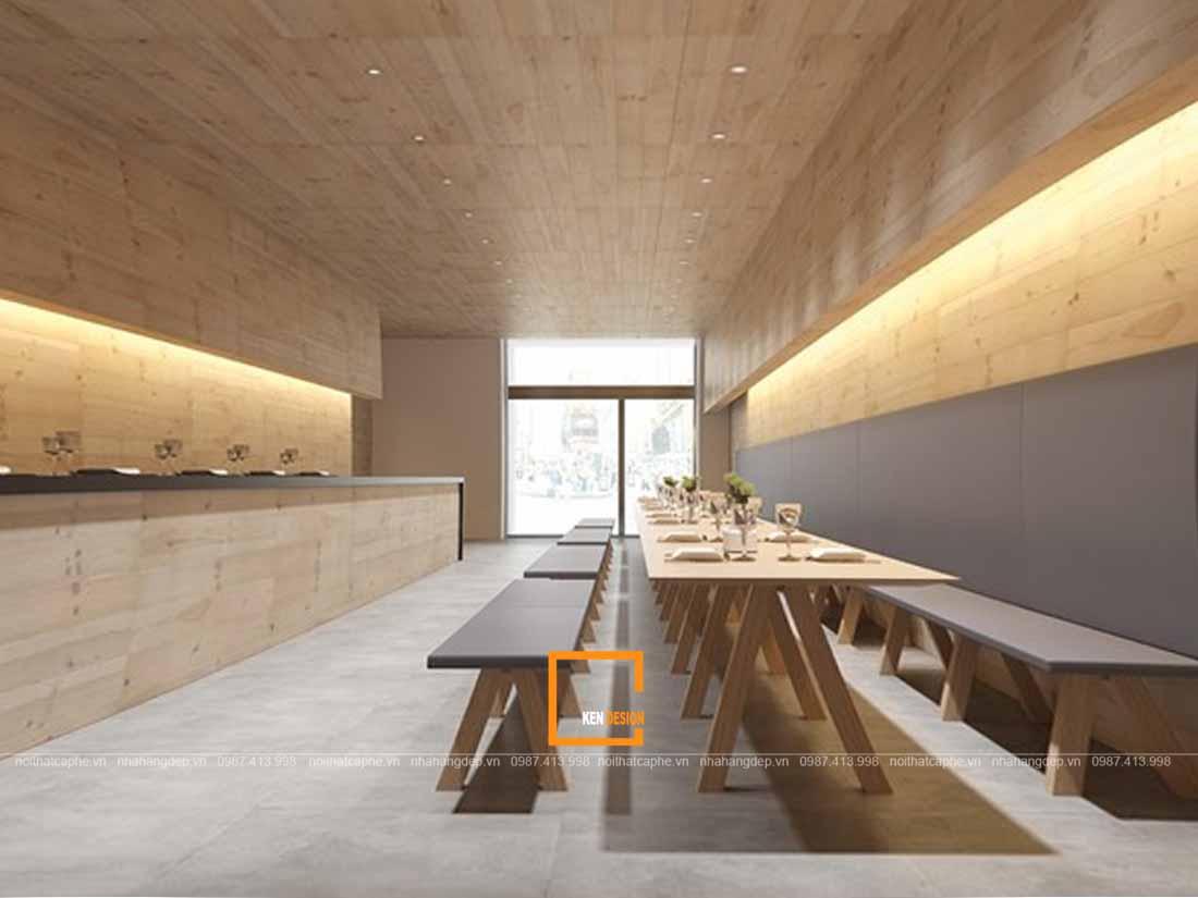 phong cach nao cho y tuong thiet ke nha hang gia re 1 - Phong cách nào cho ý tưởng thiết kế nhà hàng giá rẻ