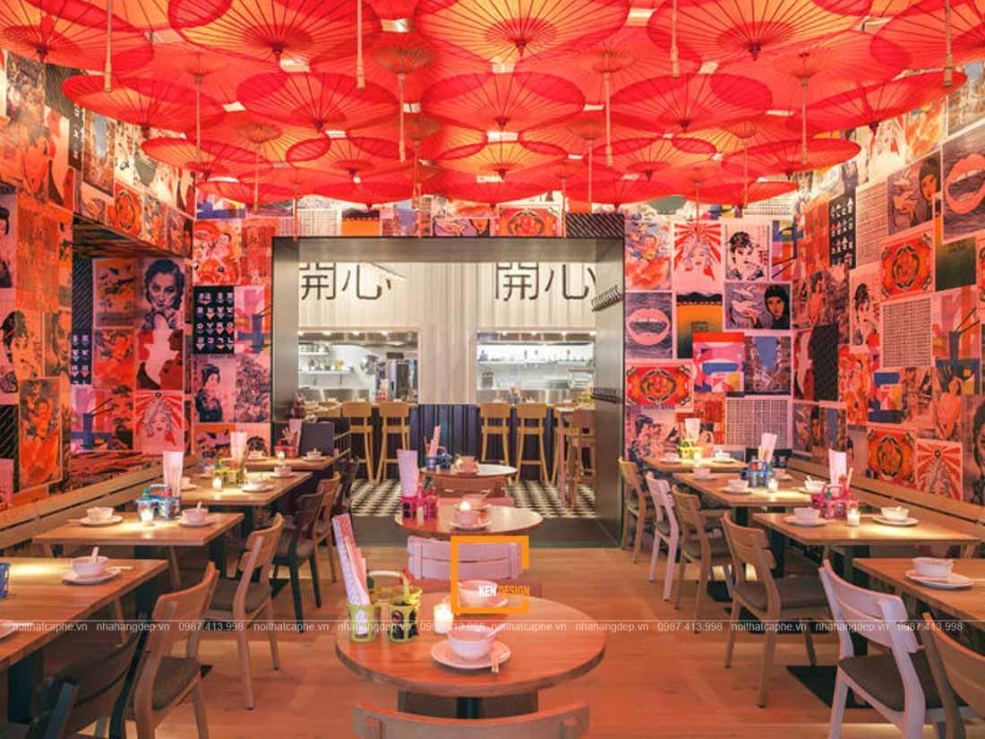 phong cach nao cho y tuong thiet ke nha hang gia re 4 - Phong cách nào cho ý tưởng thiết kế nhà hàng giá rẻ