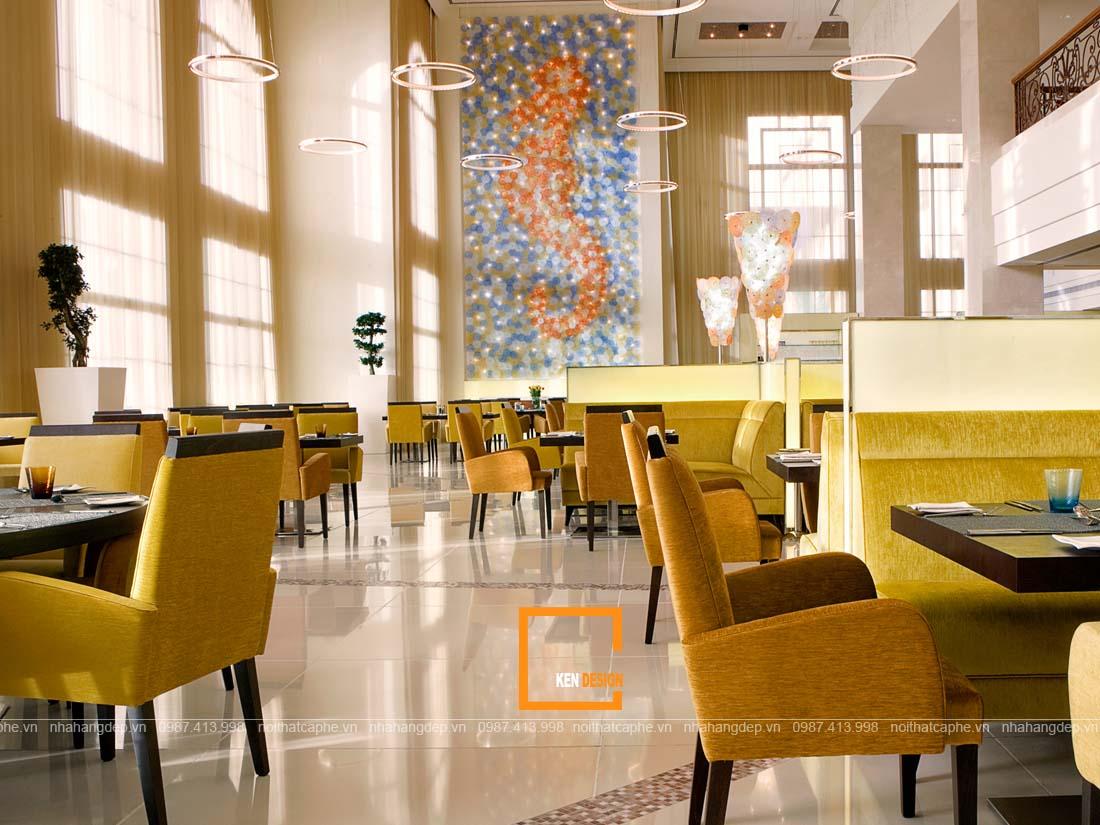su dung mau sac nhu the nao cho thiet ke nha hang noi bat 3 - Sử dụng màu sắc như thế nào cho thiết kế nhà hàng nổi bật