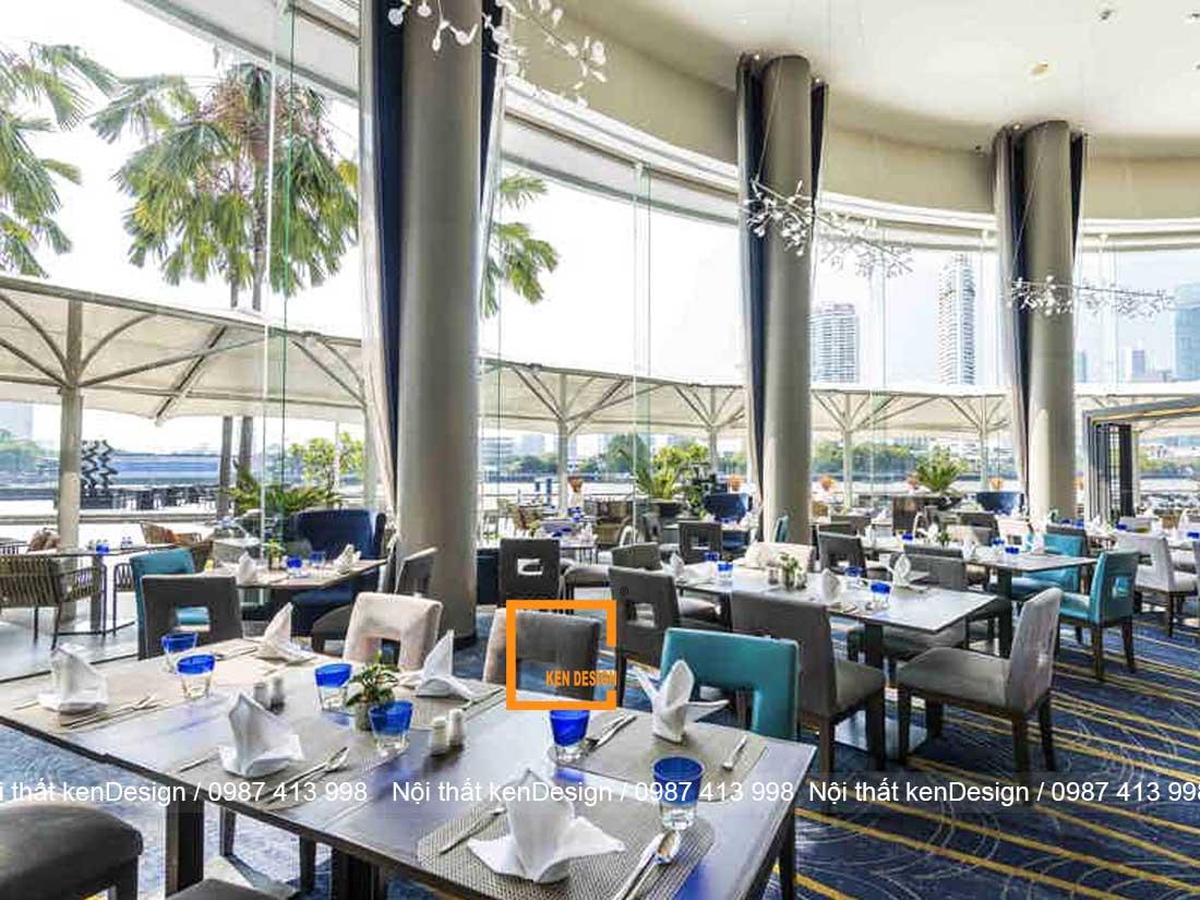 thiet ke kien truc nha hang hien dai can dam bao dieu gi 1 - Thiết kế kiến trúc nhà hàng hiện đại cần đảm bảo điều gì?