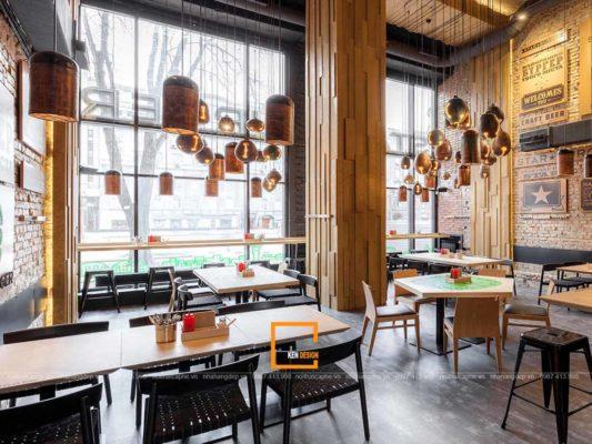 thiet ke nha hang an uong phong cach cong nghiep 4 533x400 - Thiết kế nhà hàng ăn uống phong cách công nghiệp