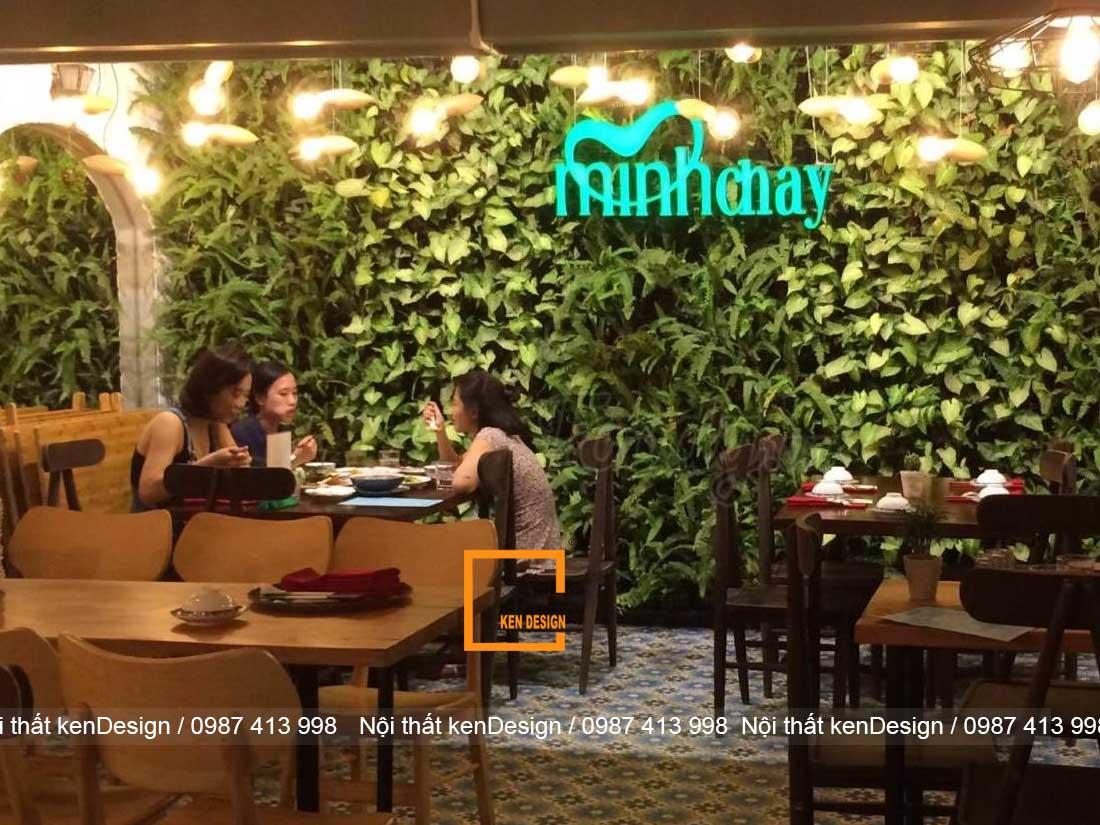 thiet ke nha hang chay voi khong gian xanh dep bi quyet la 1 - Thiết kế nhà hàng chay với không gian xanh đẹp, bí quyết là