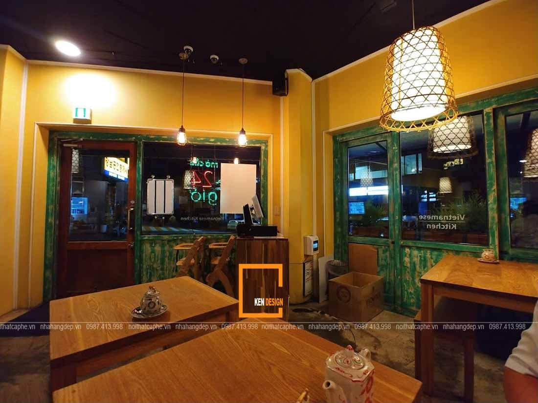 thiet ke nha hang han quoc nhung nguyen tac can biet 4 1 - Tiêu chuẩn cho một nhà hàng bún đậu