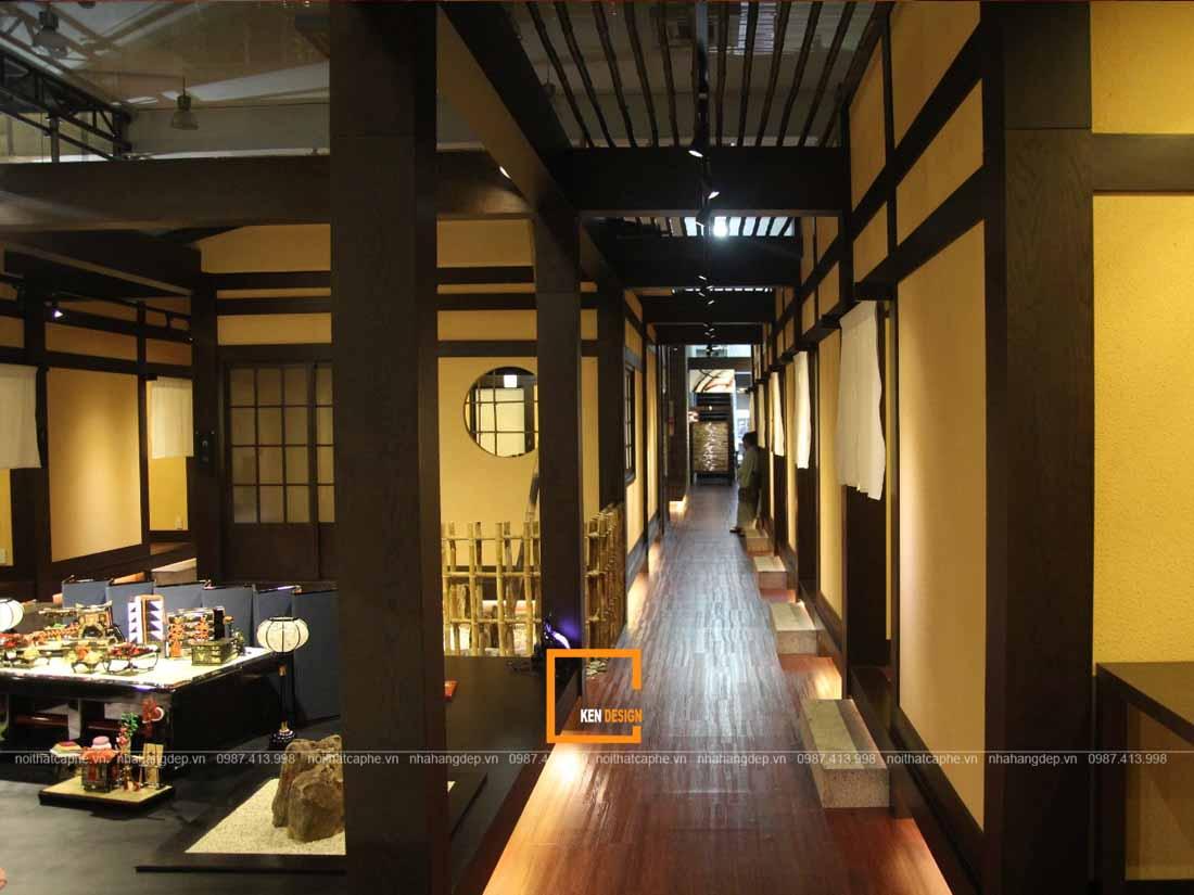 thiet ke nha hang kieu nhat su hoa quyen cua xua va nay 2 - Thiết kế nhà hàng kiểu Nhật - Sự hòa quyện của xưa và nay