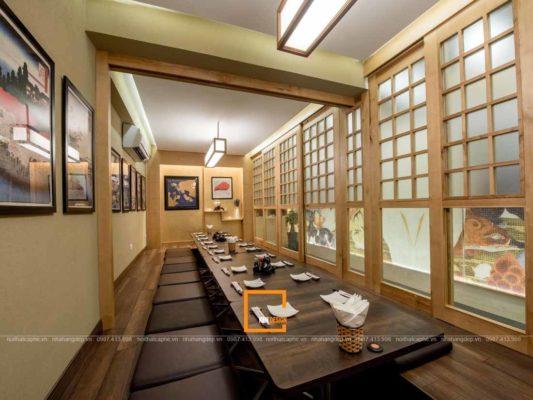 thiet ke nha hang kieu nhat su hoa quyen cua xua va nay 3 533x400 - Thiết kế nhà hàng kiểu Nhật - Sự hòa quyện của xưa và nay