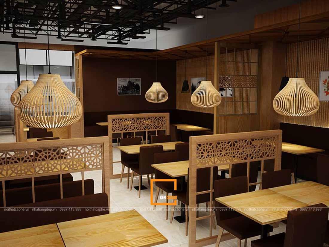 thiet ke nha hang kieu nhat su hoa quyen cua xua va nay 4 - Thiết kế nhà hàng kiểu Nhật - Sự hòa quyện của xưa và nay