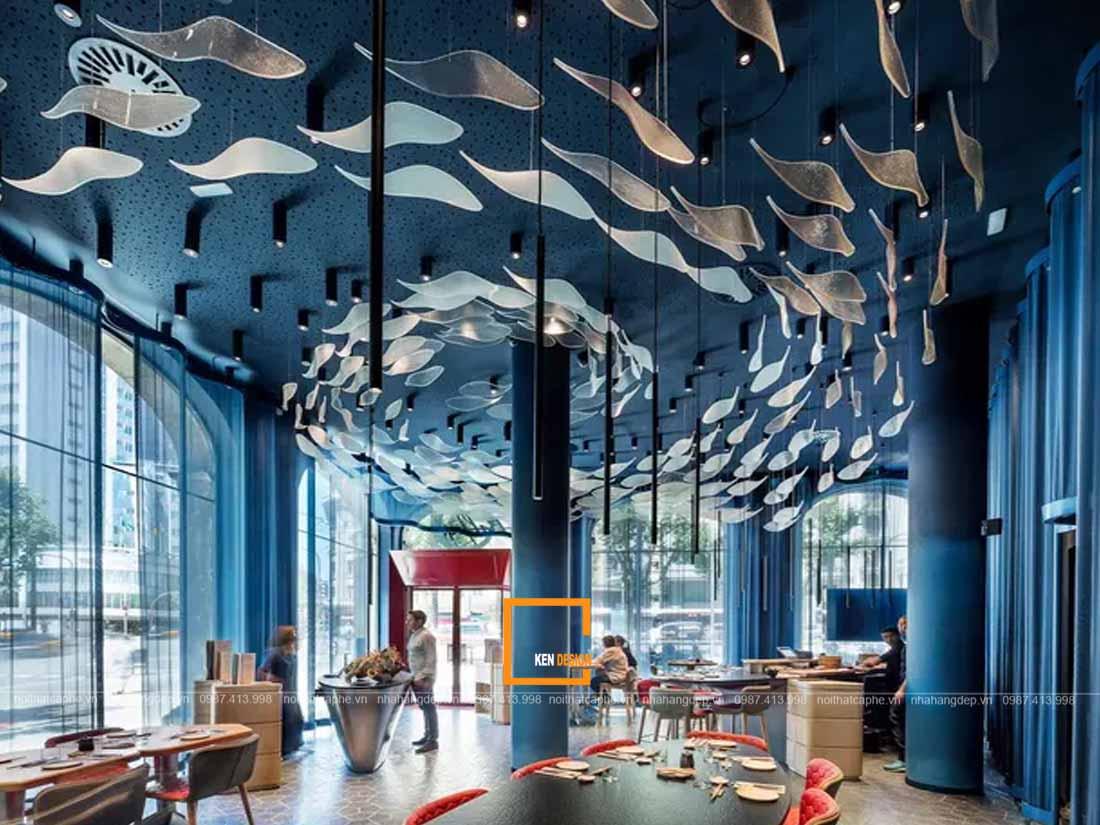 thiet ke noi that nha hang hai san lam sao de tao su doc dao 3 - Thiết kế nội thất nhà hàng hải sản - làm sao để tạo sự độc đáo ?