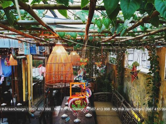 thiet ke thi cong nha hang tron goi phong cach vintage 2 533x400 - Thiết kế thi công nhà hàng trọn gói phong cách vintage