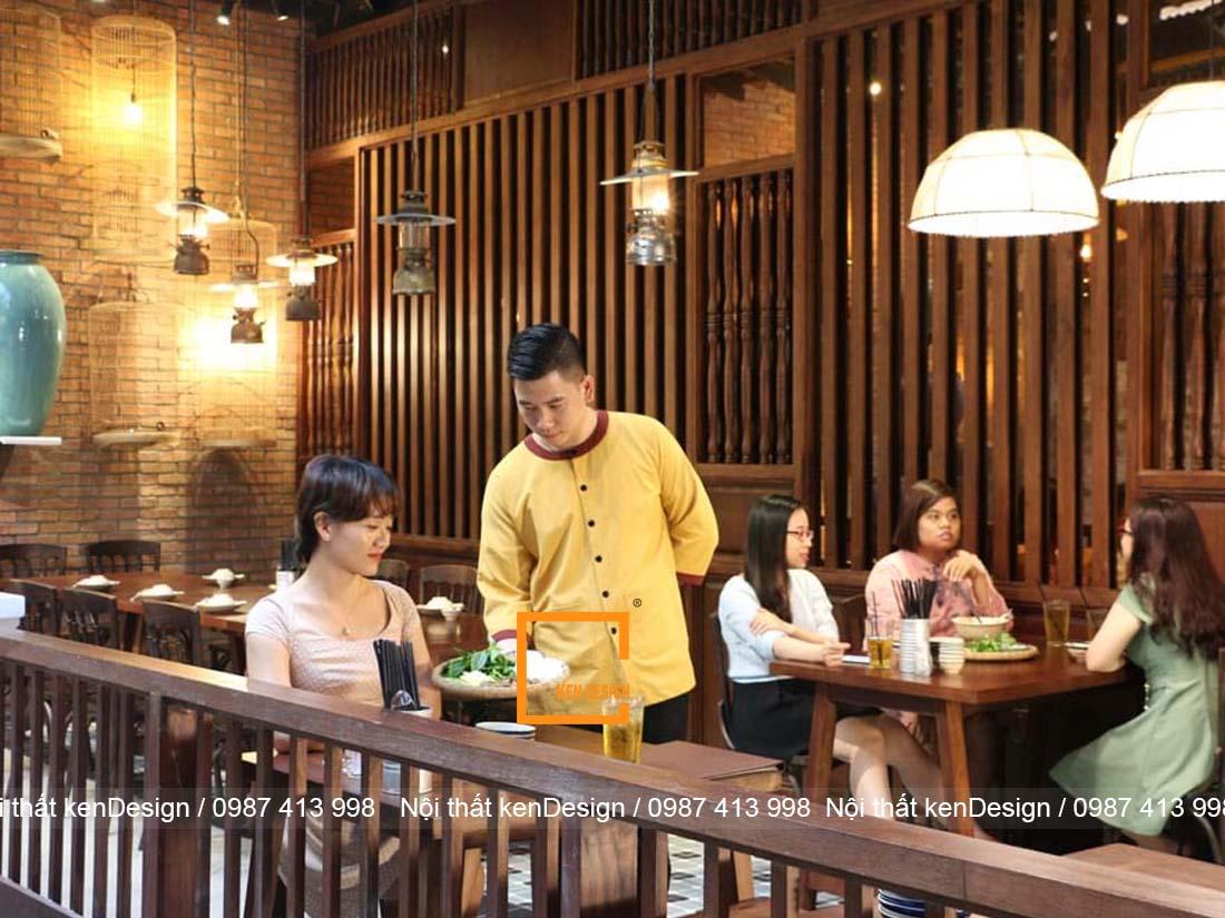 thiet ke thi cong nha hang tron goi phong cach vintage 3 - Thiết kế thi công nhà hàng trọn gói phong cách vintage