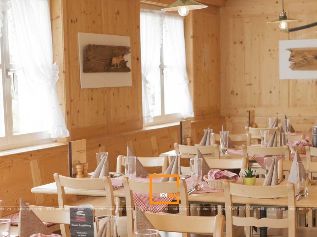 thiet ke thi cong nha hang tron goi phuong an tiet kiem hieu qua 4 - Thiết kế thi công nhà hàng trọn gói - Phương án tiết kiệm hiệu quả