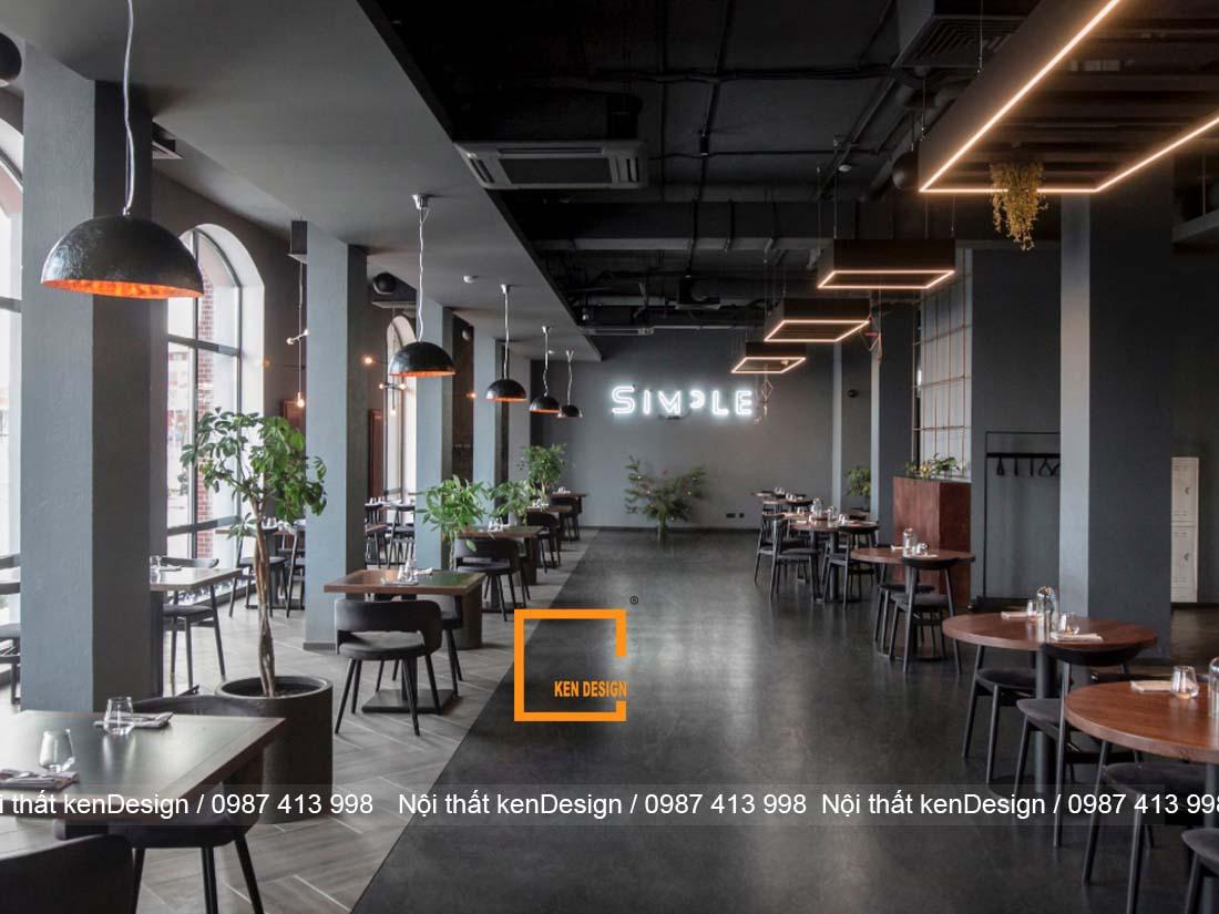 tong hop cach thiet ke nha hang don gian cho moi khong gian 1 - Tổng hợp cách thiết kế nhà hàng đơn giản cho mọi không gian