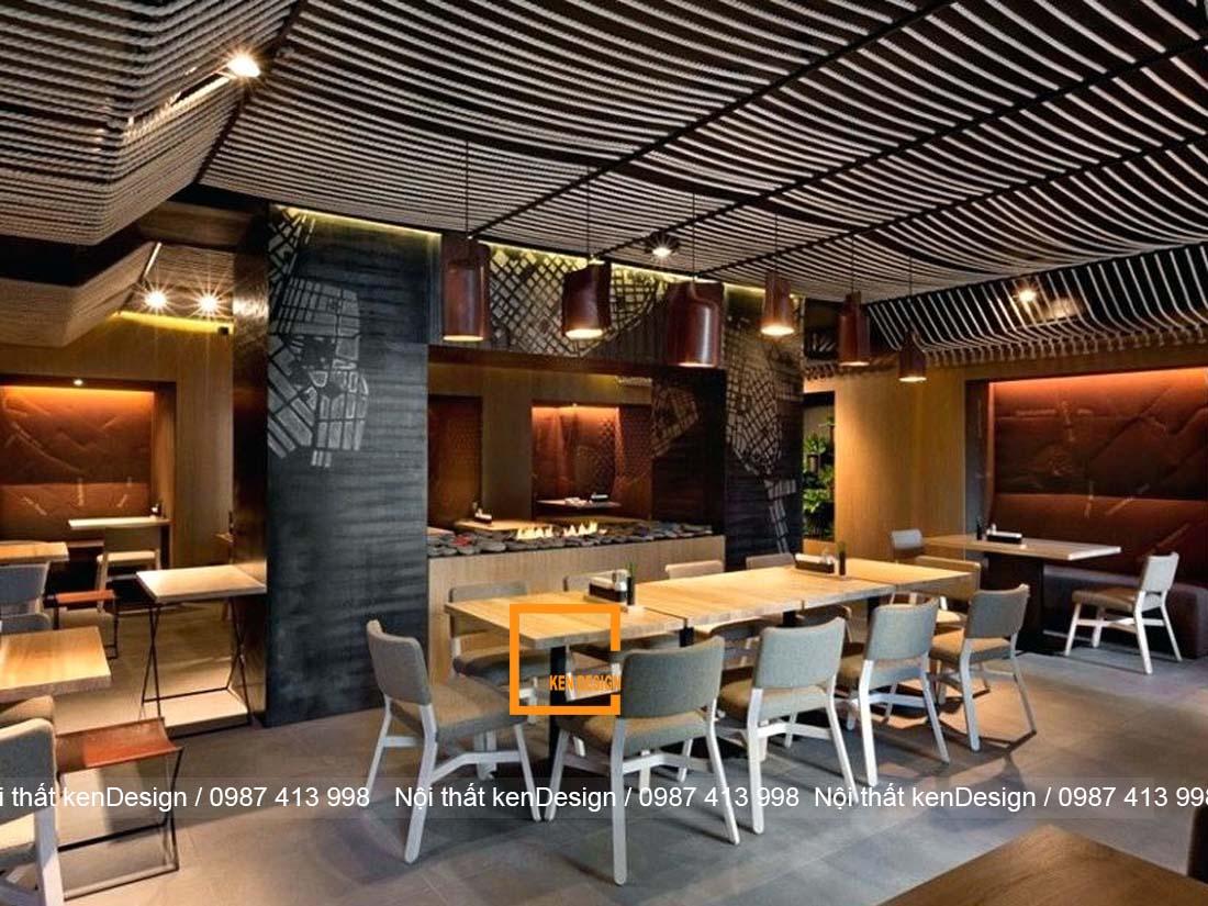 tu van thi cong nha hang cho khong gian dep thu hut 1 - Tư vấn thi công nhà hàng cho không gian đẹp, thu hút