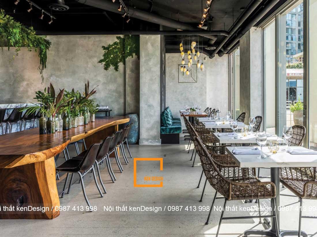 xu huong thiet ke nha hang phong cach cong nghiep 1 - Xu hướng thiết kế nhà hàng phong cách công nghiệp