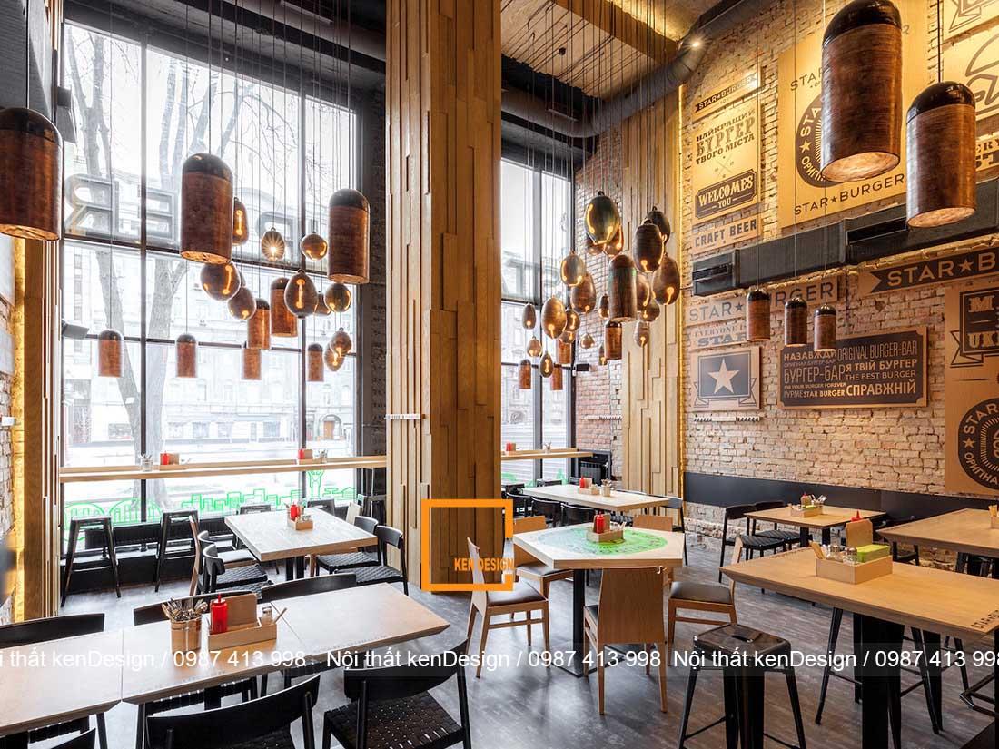 xu huong thiet ke nha hang phong cach cong nghiep 2 - Xu hướng thiết kế nhà hàng phong cách công nghiệp
