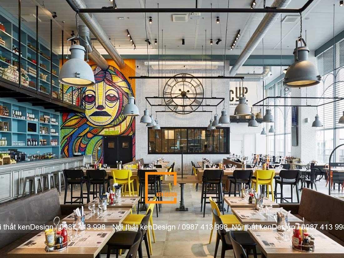 xu huong thiet ke nha hang phong cach cong nghiep 3 - Xu hướng thiết kế nhà hàng phong cách công nghiệp
