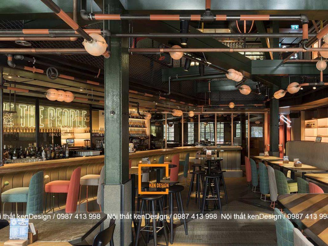xu huong thiet ke nha hang phong cach cong nghiep 4 1067x800 - Xu hướng thiết kế nhà hàng phong cách công nghiệp