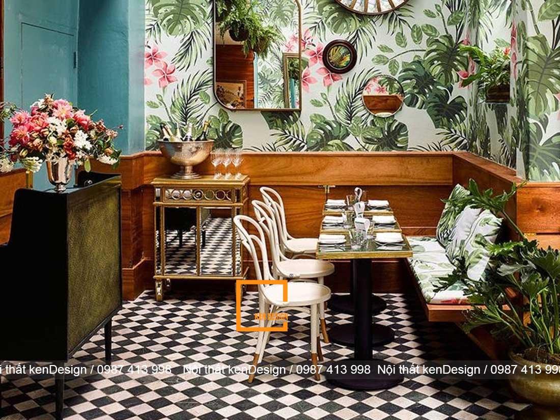 y tuong thiet ke nha hang an uong phong cach nhiet doi 4 - Ý tưởng thiết kế nhà hàng ăn uống phong cách nhiệt đới