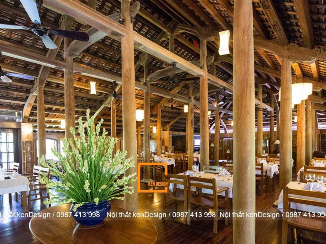 y tuong thiet ke nha hang truyen thong viet moc mac thanh binh 1 1067x800 - Ý tưởng thiết kế nhà hàng truyền thống Việt mộc mạc, thanh bình