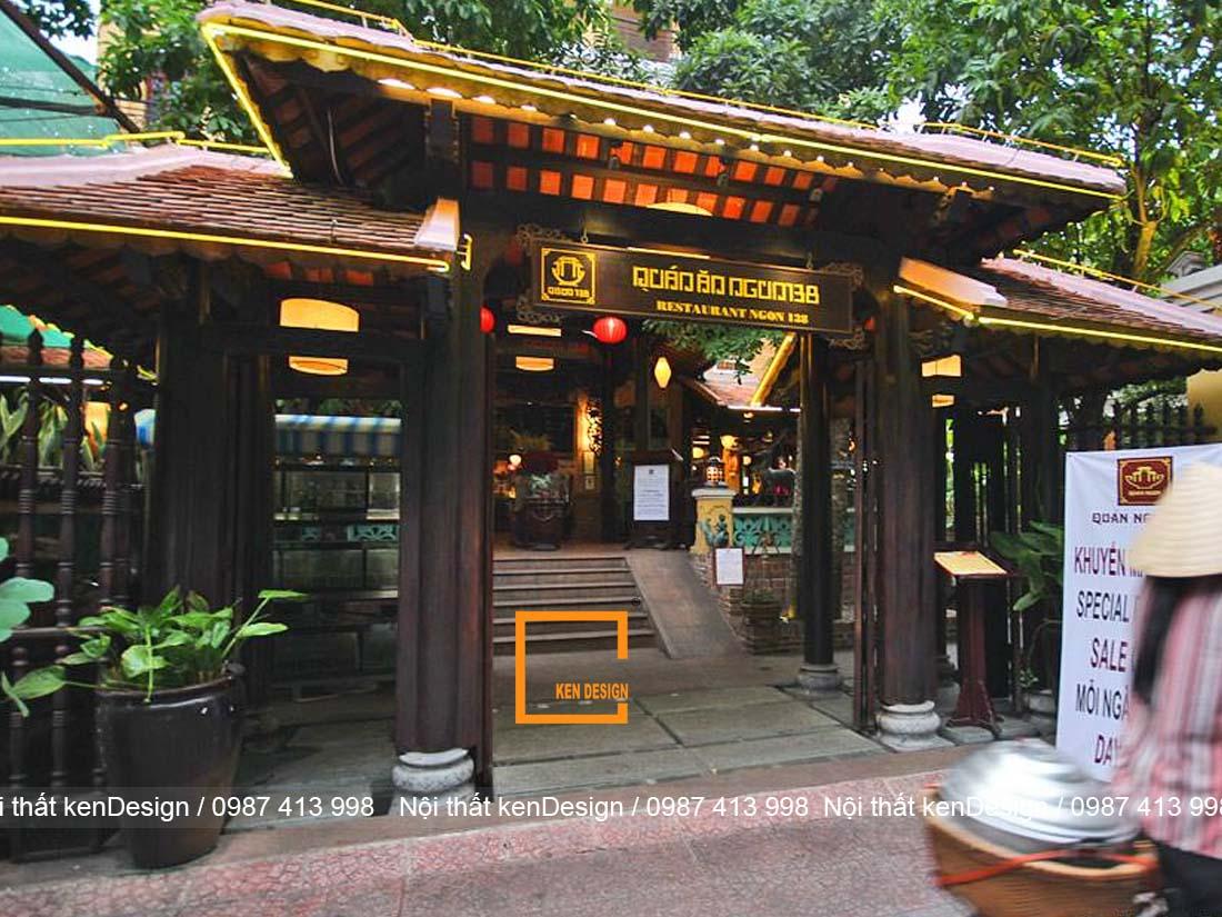 y tuong thiet ke nha hang truyen thong viet moc mac thanh binh 4 - Ý tưởng thiết kế nhà hàng truyền thống Việt mộc mạc, thanh bình