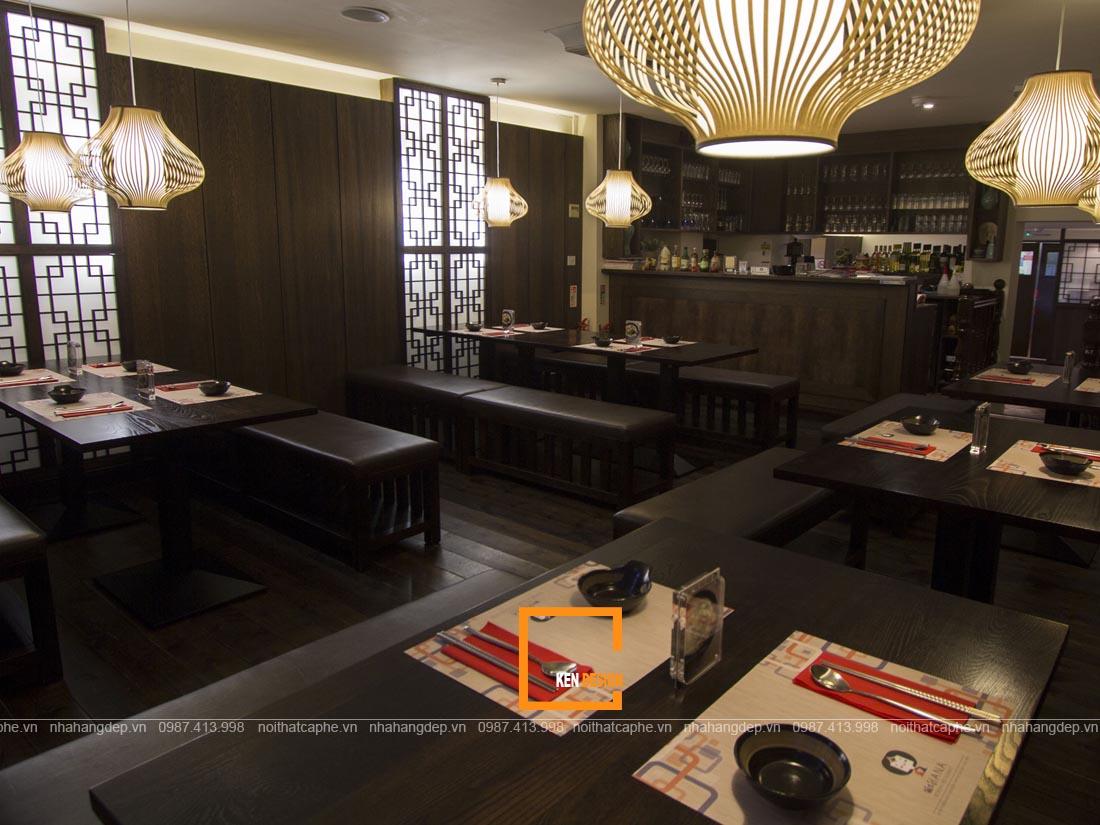 Thiết kế chuỗi nhà hàng cần có sự thống nhất phong cách
