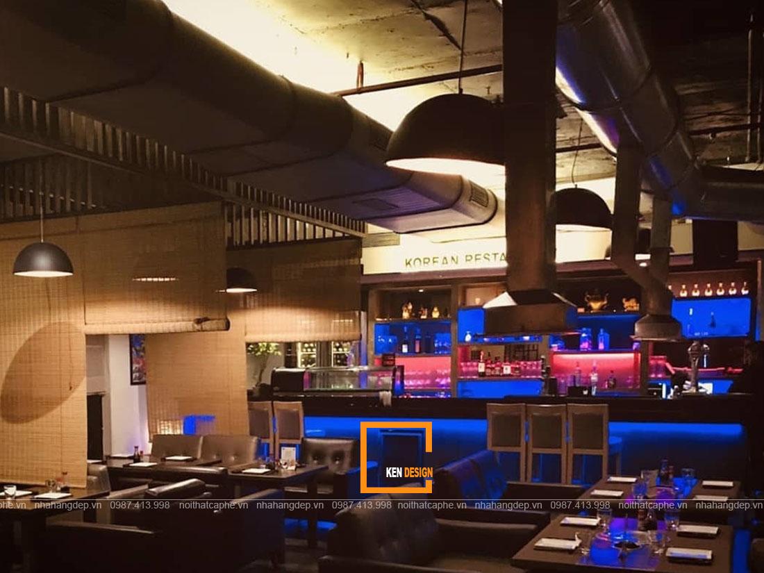 Tạo điểm nhấn cho thiết kế chuỗi nhà hàng