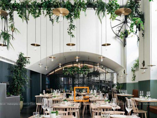 3 luu y vang khi thiet ke noi that nha hang ban da biet 3 533x400 - 3 lưu ý vàng khi thiết kế nội thất nhà hàng bạn đã biết?