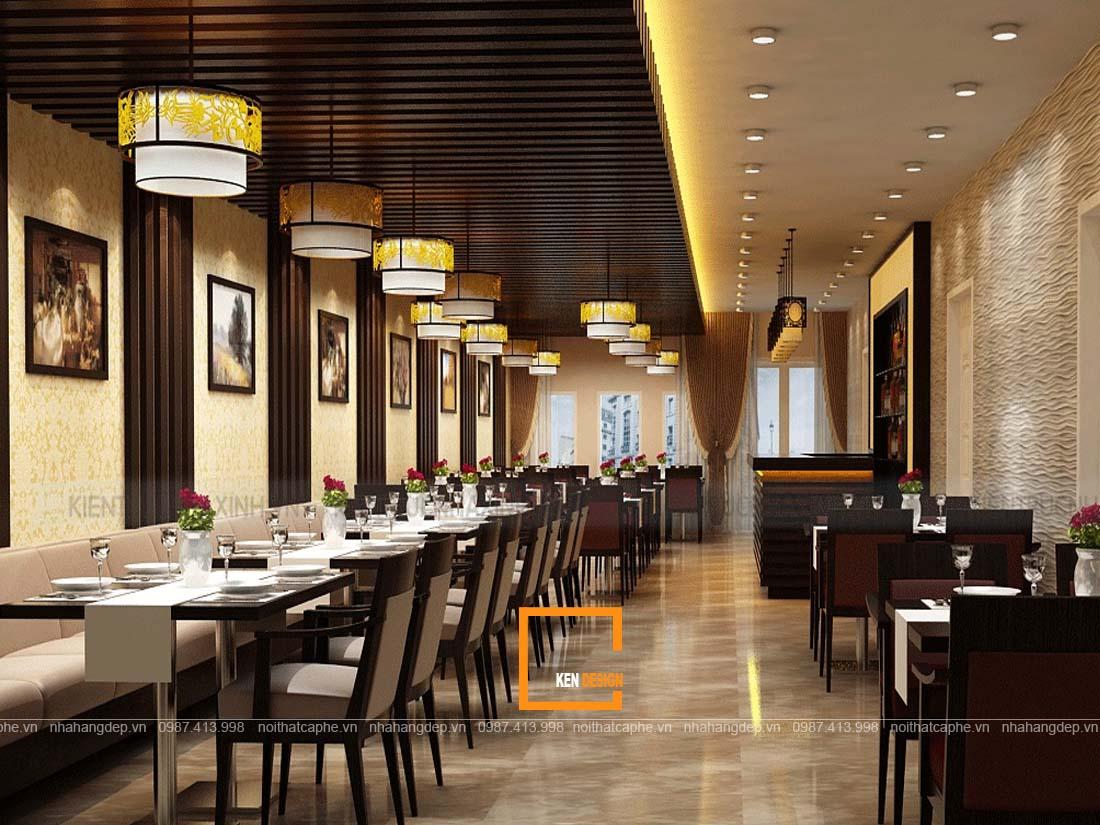 Mau thet ke nha hang 2 - Những mẫu thiết kế nhà hàng đẹp, độc đáo