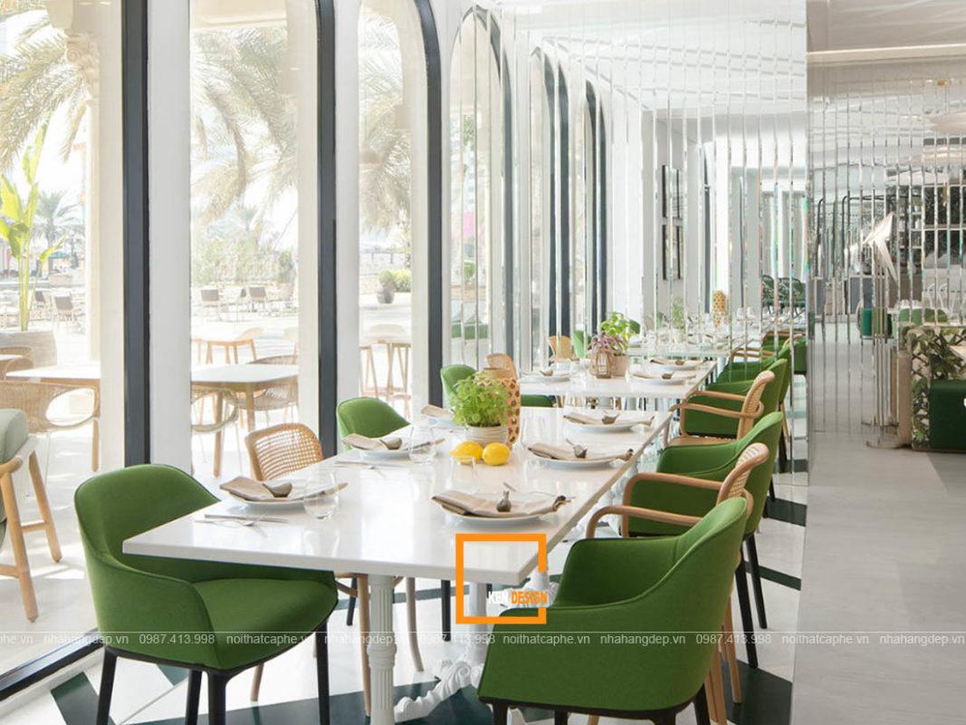 Nhung mau thiet ke nha hang 1 1067x800 - Những mẫu thiết kế nhà hàng đẹp, độc đáo
