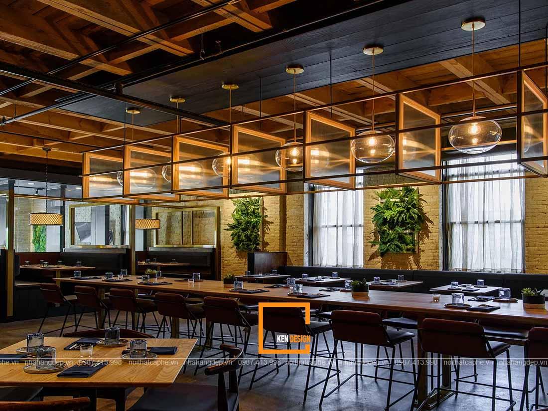 Tạo không gian mở cho thiết kế nhà hàng Hàn Quốc