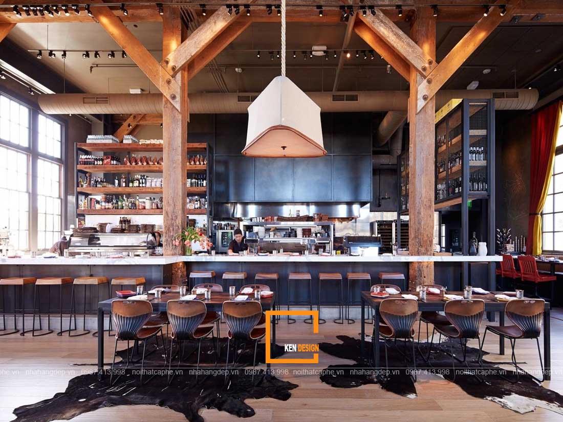 bat mi cach thiet ke nha hang phong cach rustic chuan khong can chinh 2 - Bật mí cách thiết kế nhà hàng phong cách Rustic chuẩn không cần chỉnh