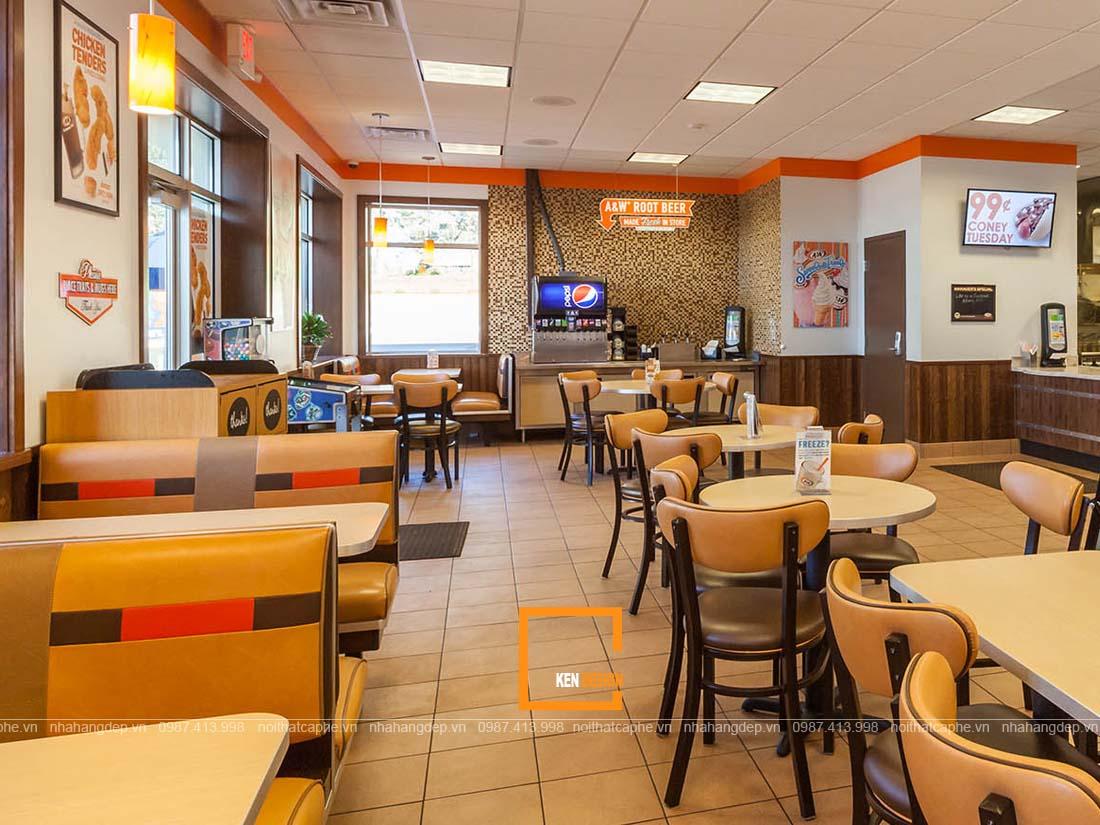 bat mi diem nhan cho thiet ke nha hang an nhanh 3 - Bật mí điểm nhấn cho thiết kế nhà hàng ăn nhanh