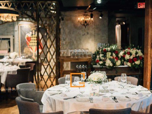 bi quyet thiet ke nha hang tiec cuoi tao su thu hut cao 2 533x400 - Bí quyết thiết kế nhà hàng tiệc cưới tạo sự thu hút cao