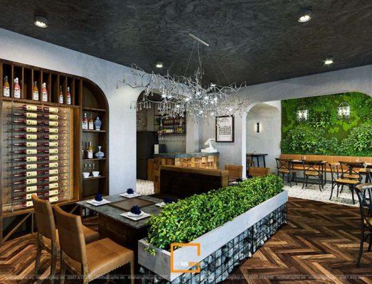cach thiet ke nha hang phong cach hien dai chuan moi khong gian 4 523x400 - Cách thiết kế nhà hàng phong cách hiện đại chuẩn mọi không gian