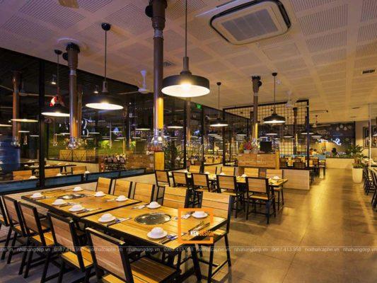 diem danh cac mo hinh thiet ke nha hang lau nuong xu huong 1 533x400 - Điểm danh các mô hình thiết kế nhà hàng lẩu nướng xu hướng