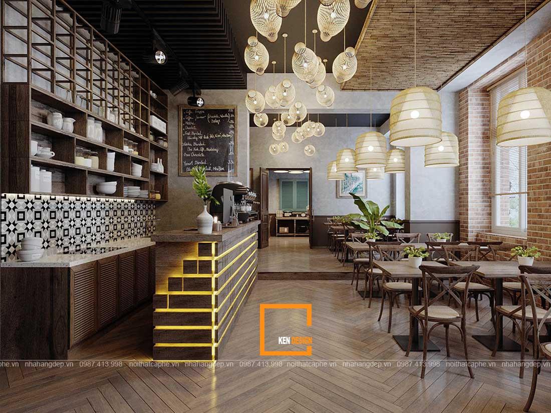 thiết kế nhà hàng