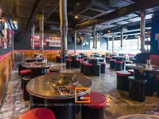 kinh nghiem thi cong nha hang han quoc dung cach 4 533x400 - Kinh nghiệm thi công nhà hàng Hàn Quốc đúng cách