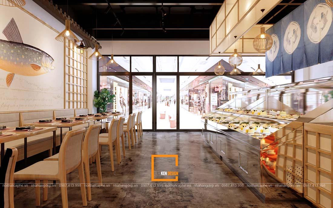 """mot so mo hinh thiet ke nha hang kieu nhat hot nhat hien nay 1 - Một số mô hình thiết kế nhà hàng kiểu Nhật """"hot"""" nhất hiện nay"""