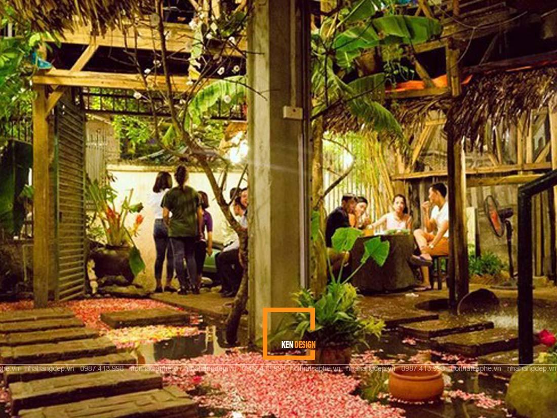 nen thiet ke nha hang san vuon voi tieu canh nhu the nao 1 - Nên thiết kế nhà hàng sân vườn với tiểu cảnh như thế nào?