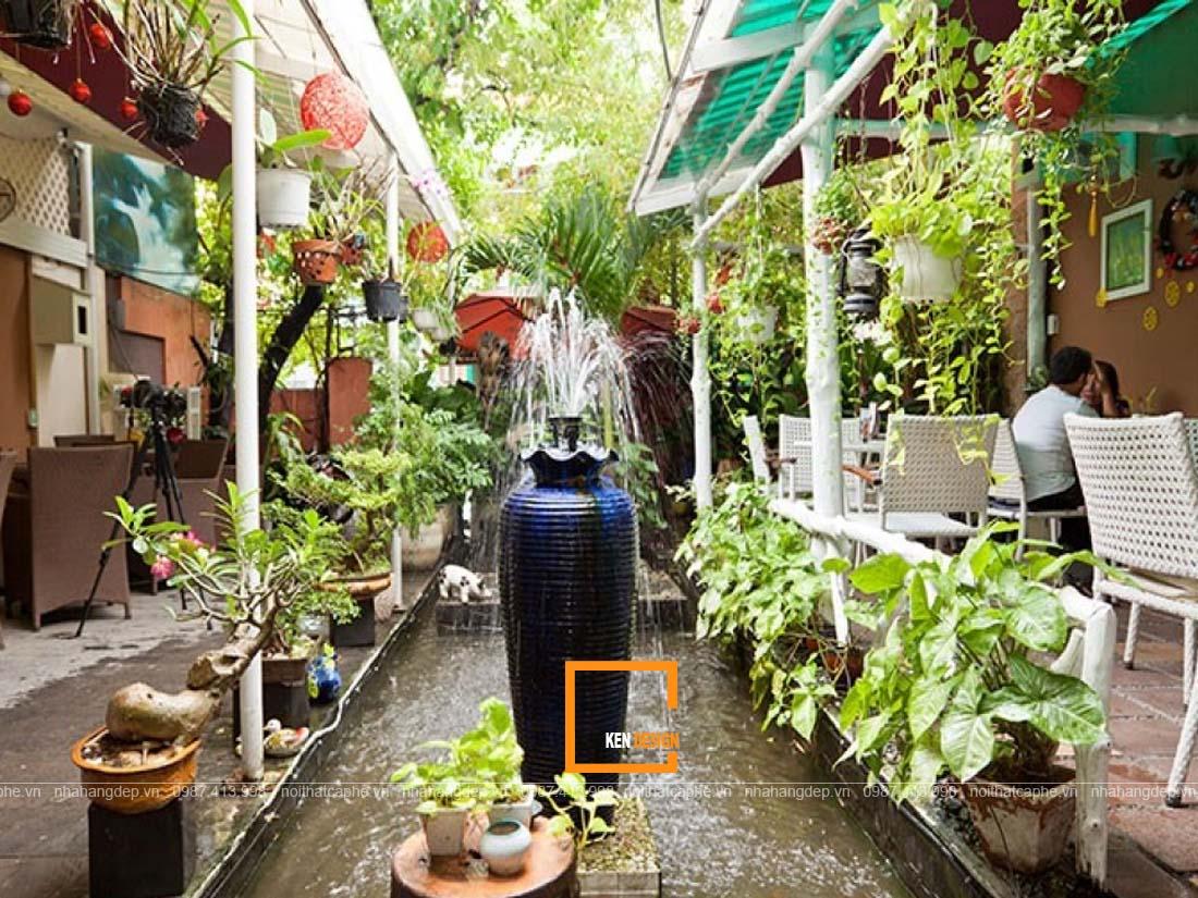 nen thiet ke nha hang san vuon voi tieu canh nhu the nao 3 - Nên thiết kế nhà hàng sân vườn với tiểu cảnh như thế nào?