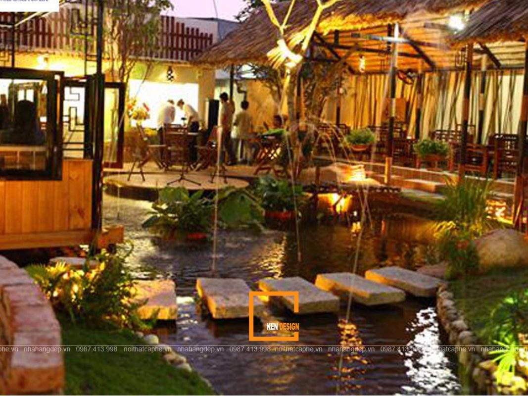 nen thiet ke nha hang san vuon voi tieu canh nhu the nao 5 1067x800 - Nên thiết kế nhà hàng sân vườn với tiểu cảnh như thế nào?