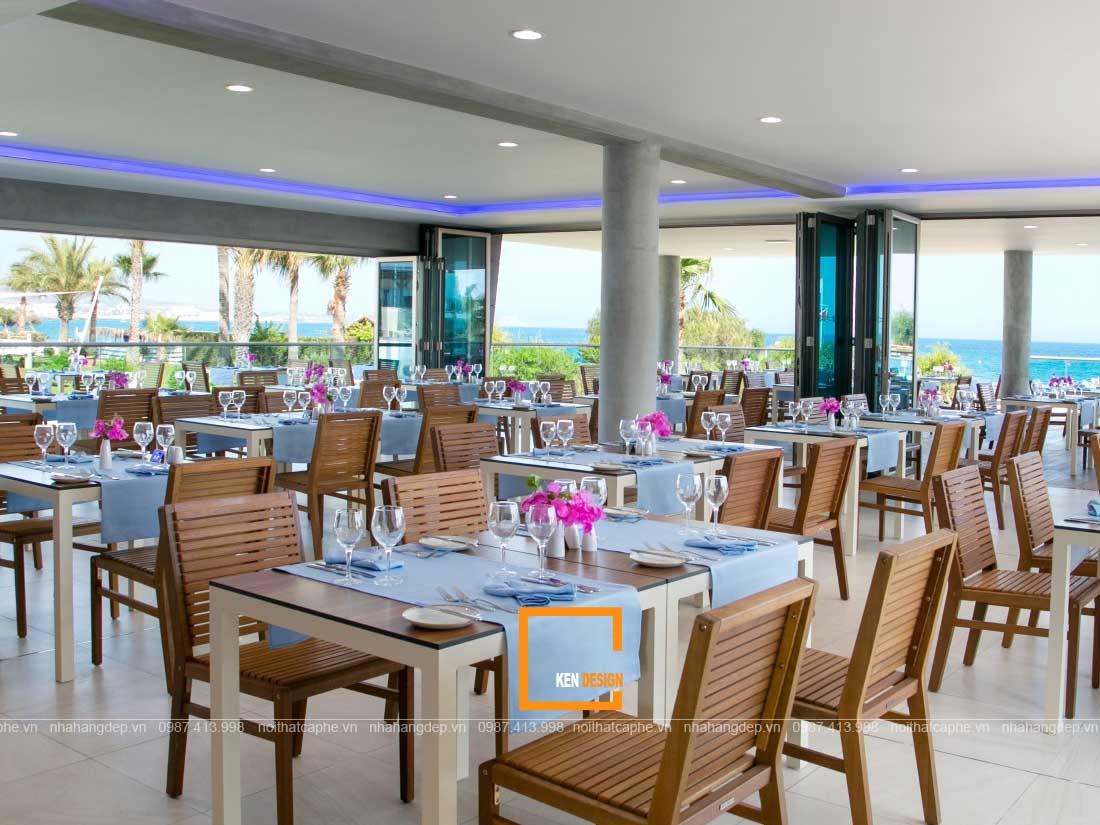 nha hang hai san 2 - Tuyệt chiêu thiết kế nhà hàng hải sản lạ mắt