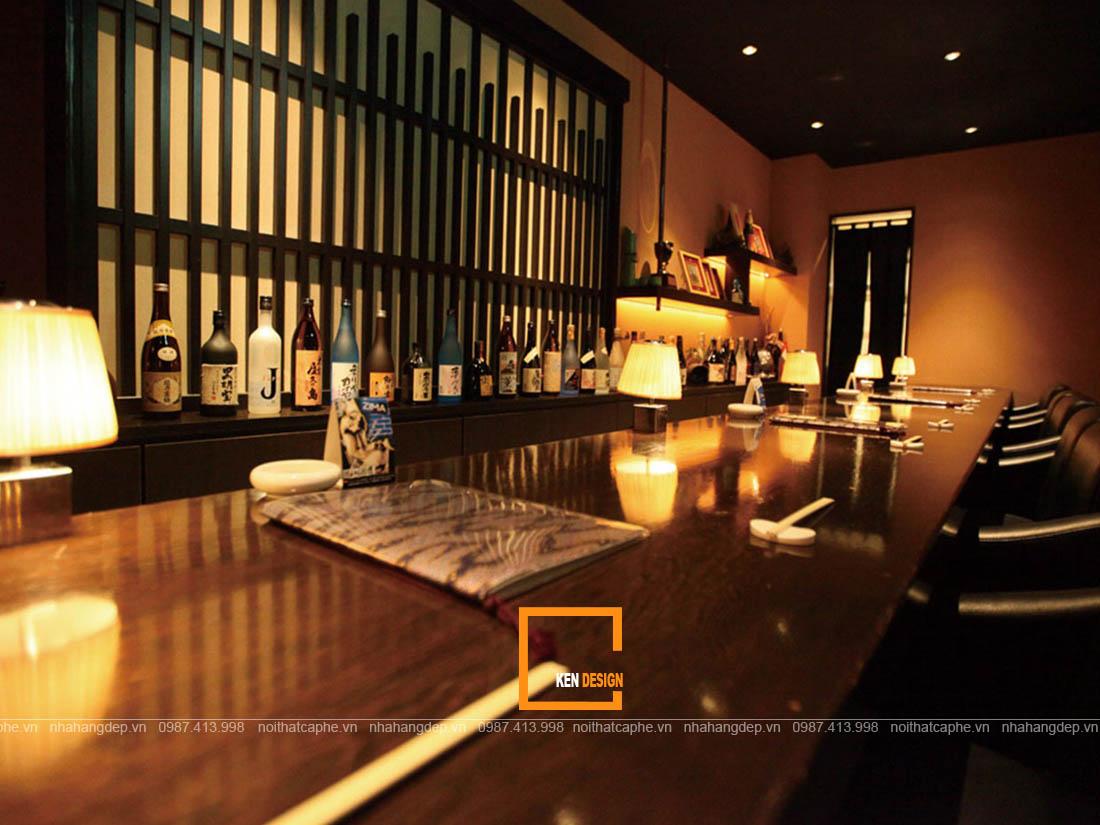 tao suc hut cho thiet ke nha hang nhat ban bang cach 3 - Tạo sức hút cho thiết kế nhà hàng Nhật Bản bằng cách