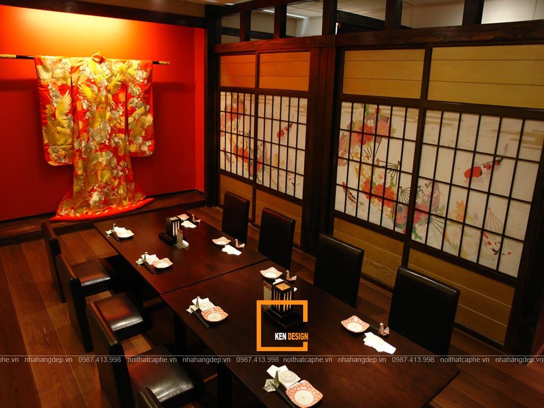 tao suc hut cho thiet ke nha hang nhat ban bang cach 5 - Tạo sức hút cho thiết kế nhà hàng Nhật Bản bằng cách