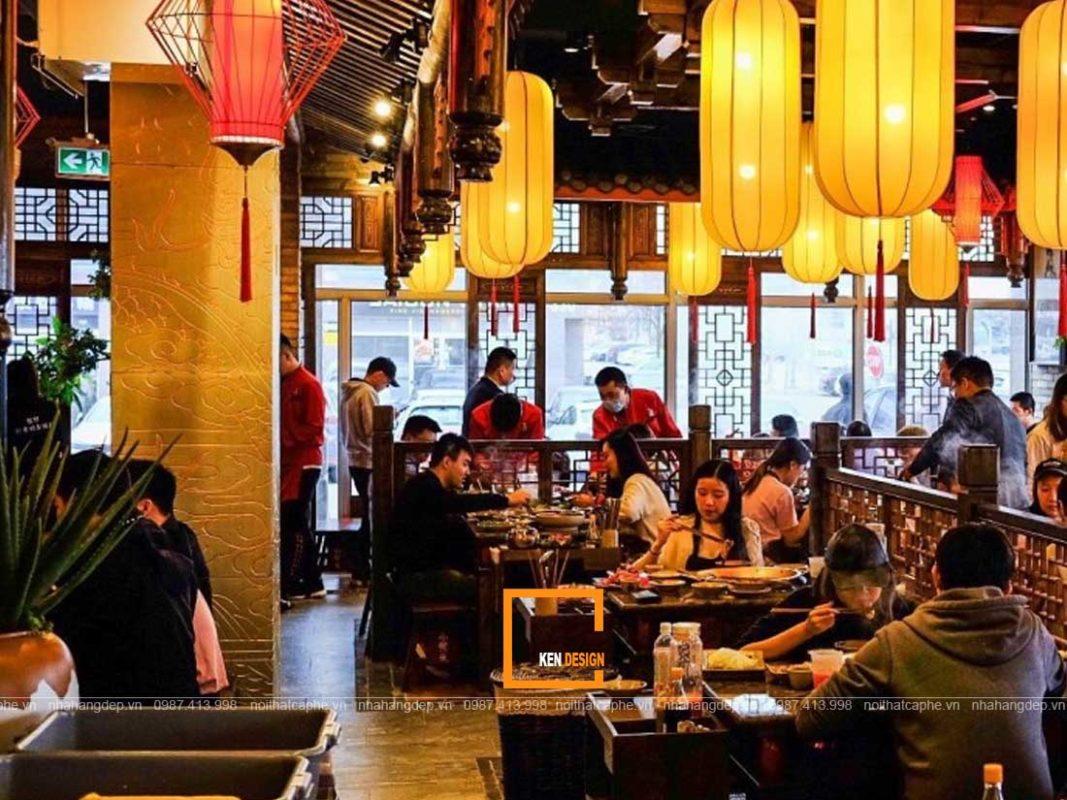 thiet ke nha hang lau nuong 2 1067x800 - Những phong cách thiết kế nhà hàng lẩu nướng ấn tượng